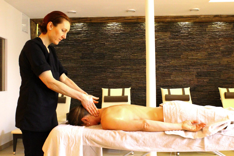 Massage au Château de Pourtalès