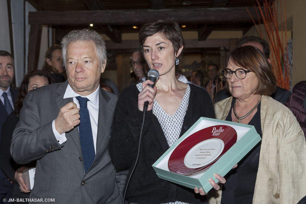 Mélanie Pfister, élue Vigneronne de l'Année du Guide Pudlo Alsace 2017