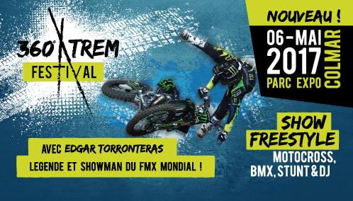 36Xtrem Festival de Colmar : Show motocross et BMX freestyle
