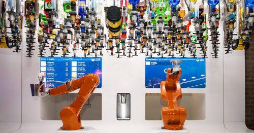 Tony, le nouveau bar robotisé à Strasbourg, unique en Europe