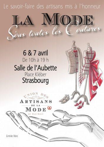 événement des artisans de la mode à l'aubette à strasbourg
