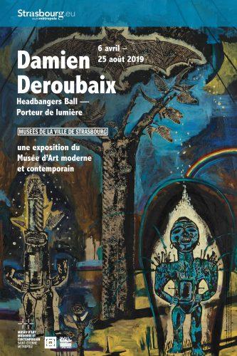 Exposition Deroubaix au Musée d'Art Moderne et Contemporain de Strasbourg