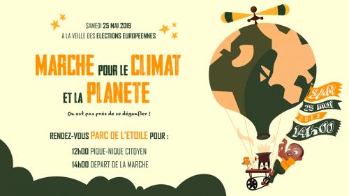 6eme marche pour le climat à Strasbourg