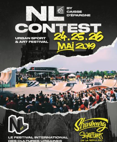 NL Contest 2019, le festival des cultures urbaines à Strasbourg