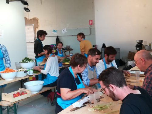 Cuisine participative à Strasbourg avec les Petites Cantines