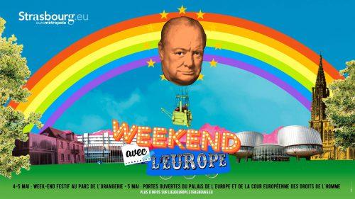 Un week-end pour fêter l'Europe à Strasbourg