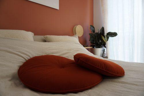 coussins-ronds-terracotta-madeinfrance-velours-rosesaleas